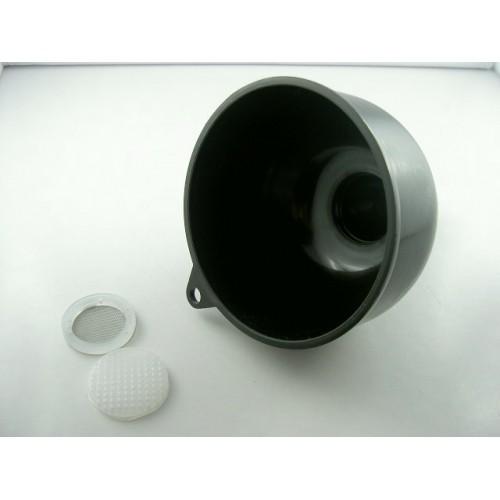Entonnoir avec grille et filtre inox