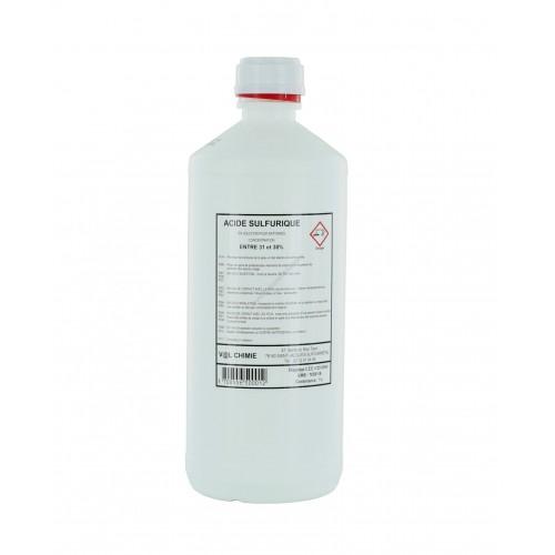 Bidon 1 litre d'acide Electrolyte 37.4