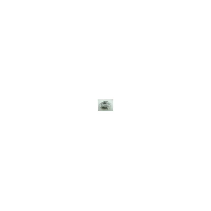 Mètre de Fil de Bougie Ø7 - Transparent