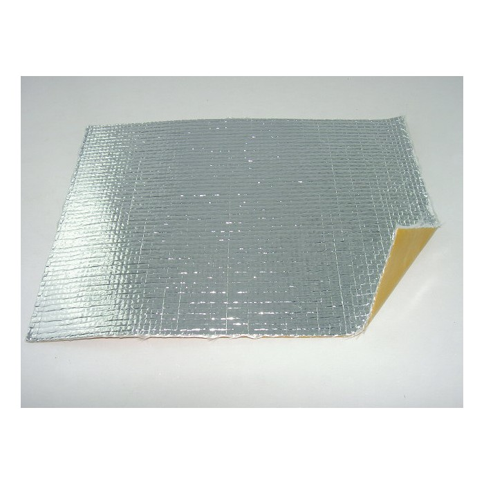 plaque isolante adh sive en tissu de verre aluminium 250 200 mm sarl difag. Black Bedroom Furniture Sets. Home Design Ideas