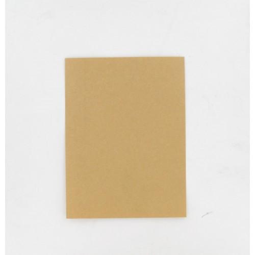 Feuille 200 x 150 mm papier huilé indéchirable 150° - Epaisseur 0.50 mm