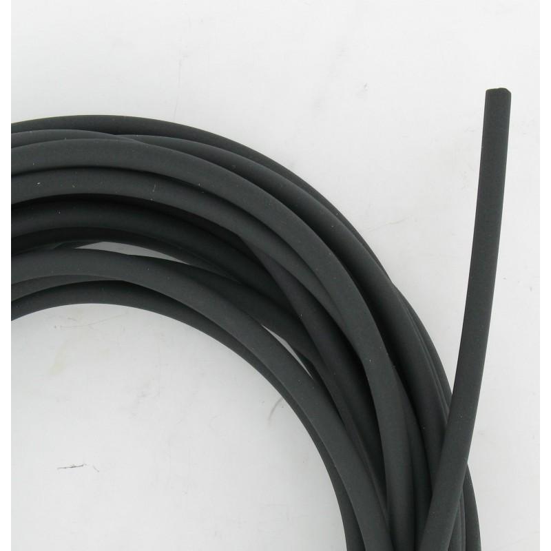 Durite Souple Elastomère Noire Hydrocarbures 4x7