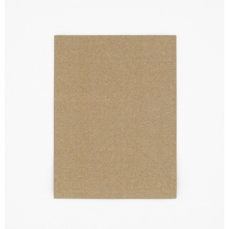 Feuille 200 x 150 mm papier liège nitrile 100° - Epaisseur 2,00 mm