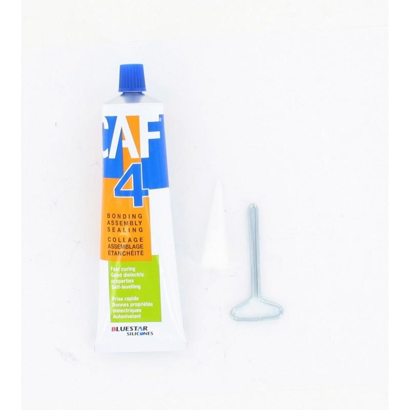 CAF 4 - Tube de 100g de pâte à joints haute température - Blanc