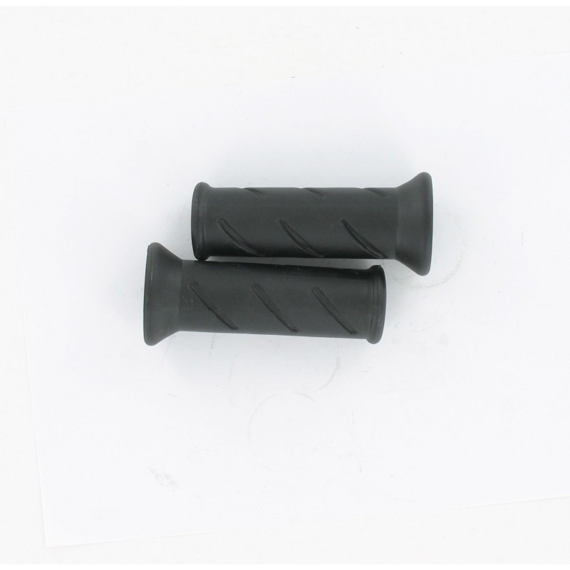 Paire de revêtements de poignées noir type Peugeot 103