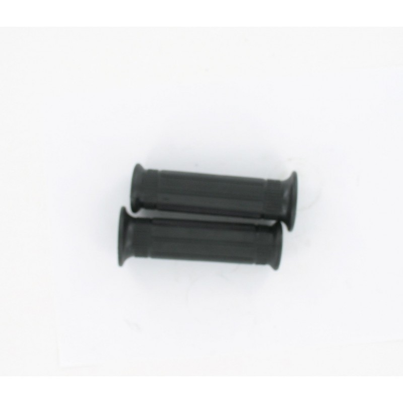 Paire de recouvrements noir caoutchouc type mini Targa