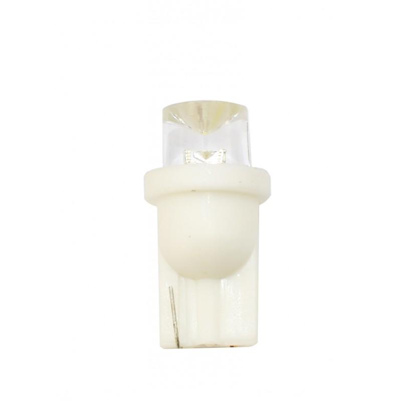 T10 – 12V – 1 x Flux Concave 8mm – P: 0.29 W – Blanc