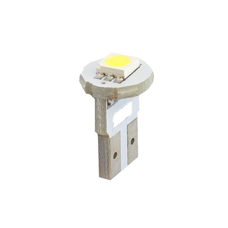T10 – 12V – 1 x SMD 5050 – P: 0.24 W – Blanc