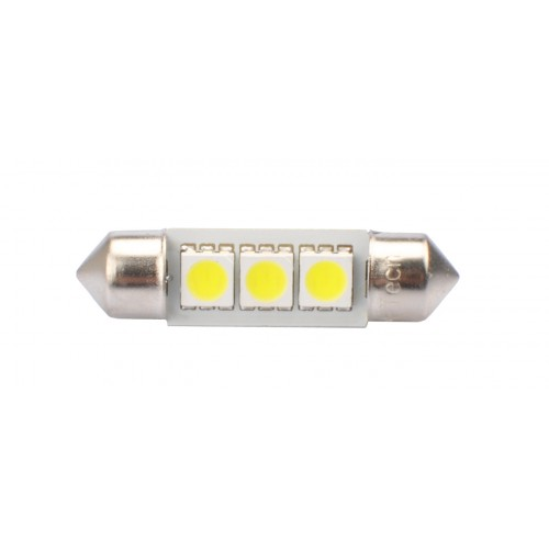 36 mm  - 12V – 3 x SMD 5050 Canbus –  P : 0.72 W – Blanc