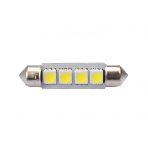 41 mm  - 12V – 4 x SMD 5050 Canbus –  P: 0.96 W – Blanc