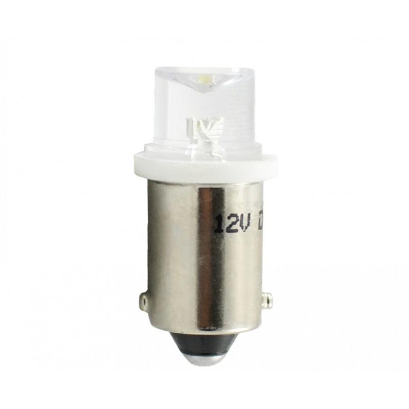 12V – Led Flux 5mm Concave   –     P : 0.29W – Blanc