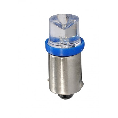 12V – Led Flux 5mm Concave   –     P : 0.29W – Bleu