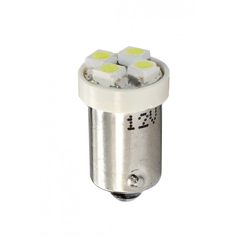 12V – 4 x SMD 3528 – P : 0.32W – Blanc