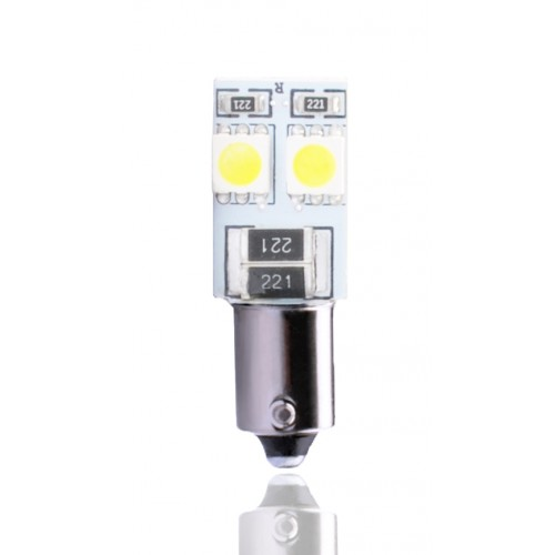 12V – 4 x SMD 5050 Canbus  –         P : 0.96W – Blanc