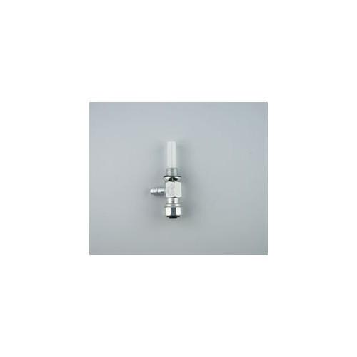 Robinet essence Universel à vis Ø de fixation 10 mm pour durite de Ø6 mm