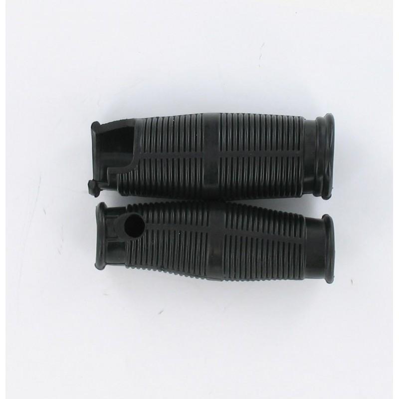 Revêtements de poignée Solex - Noir - La Paire