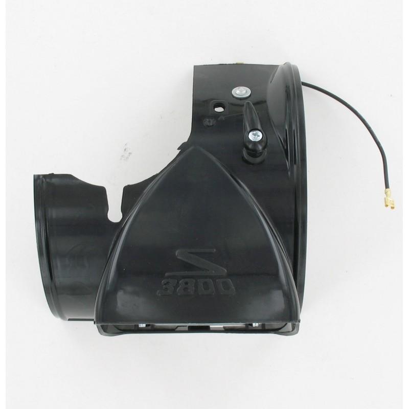 Capot phare sans optique Solex 3800 - Noir