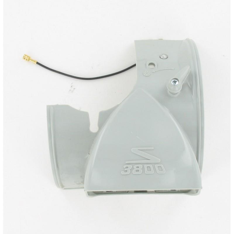 Capot phare sans optique Solex 3800 - Gris