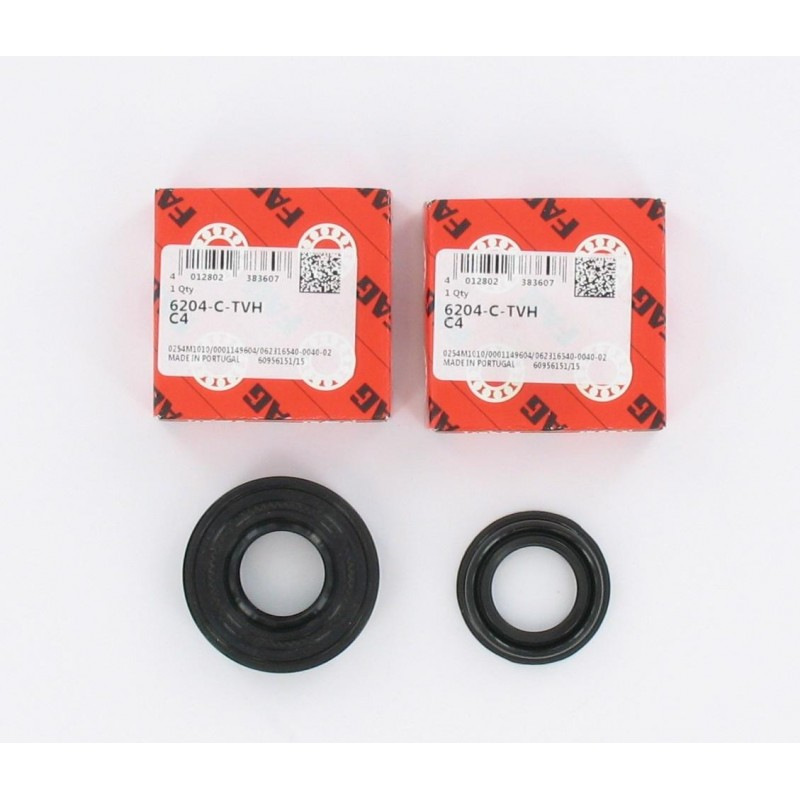 Kit roulements moteur 6204 C4 TVH FAG - MBK Booster / Nitro - CPI