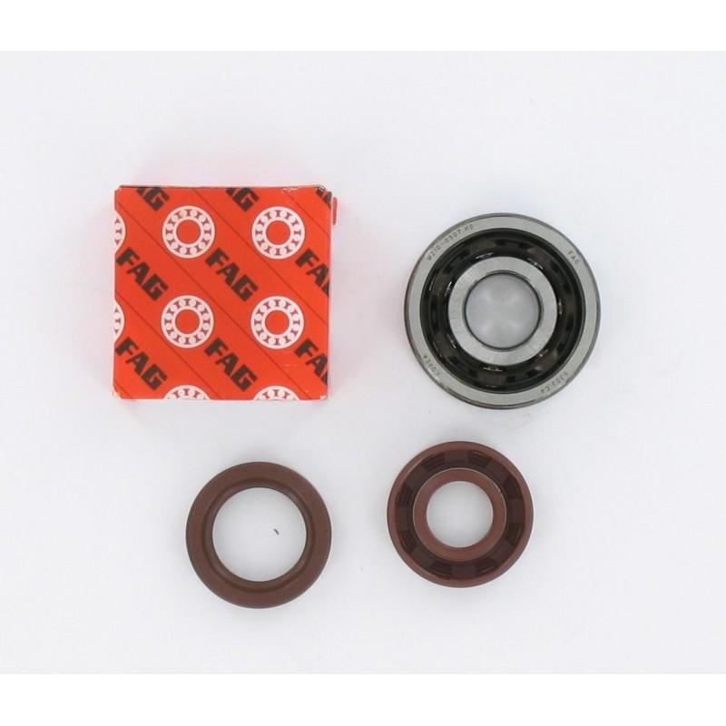Kit roulements moteur 6303 C4 TVH polyamide FAG - Minarelli AM6