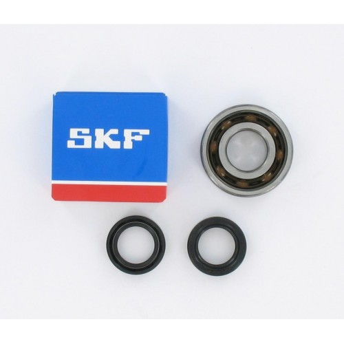 Kit roulements moteur 6204 C4 TN9 polyamide SKF - Peugeot Ludix / Speedfight 3