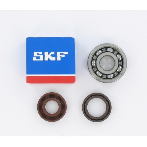 Kit roulements moteur 6303 C4 SKF - Minarelli AM6