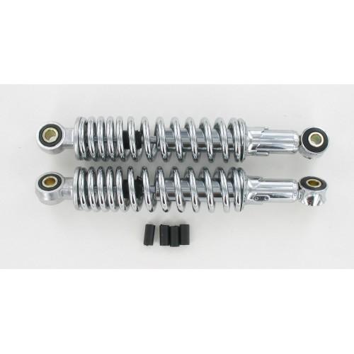 Amortisseurs réglables 280 mm Chromé (La paire)