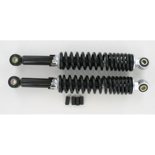 Amortisseurs réglables 320 mm Noir (La paire)