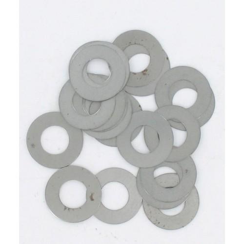 Sachet de 20 rondelles de calage Acier MBK 16 x 27