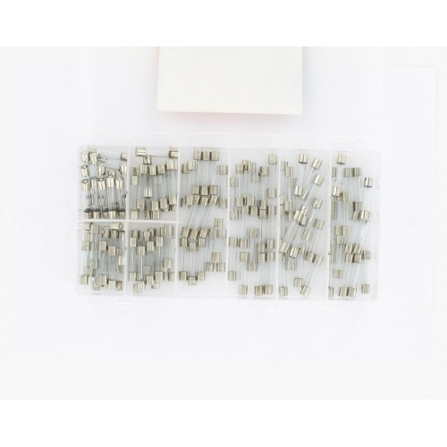Coffret de 120 fusibles verre (2.5-8-10-15-20-25-30-35 A)