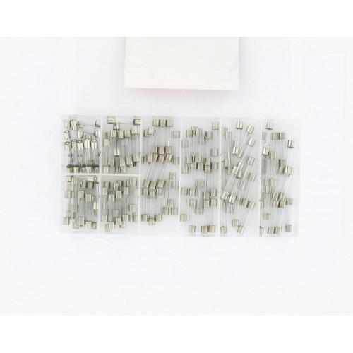 Sachet de 10 Fusibles 10 Ampères  6.3 x 27mm en verre