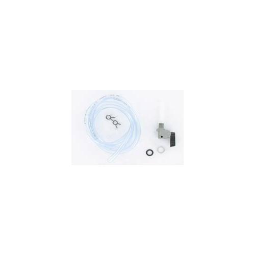 Kit robinet à essence MBK 51 AV10  : robinet + durite transparente + colliers