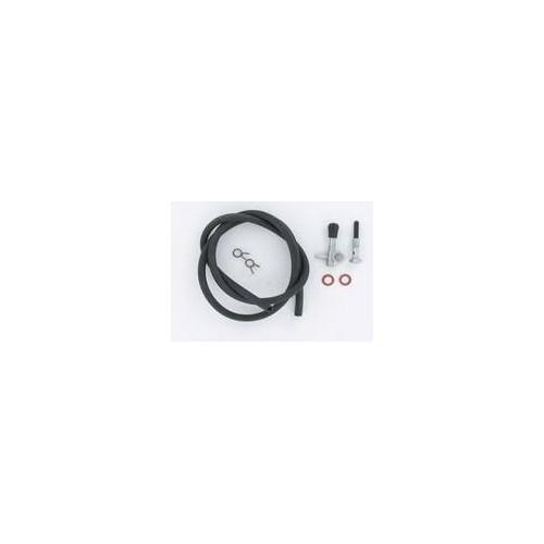 Kit robinet à essence MBK 88 AV7  : robinet + durite noire + colliers