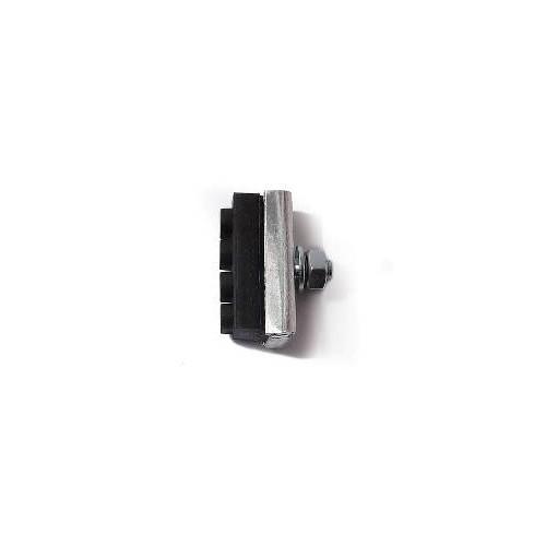 Porte patin Aluminium avec caoutchouc Course 39 mm