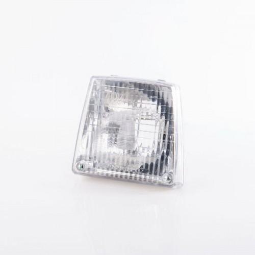 Optique de phare trapézoïdale complet pour Mobylette 50 - Homologué