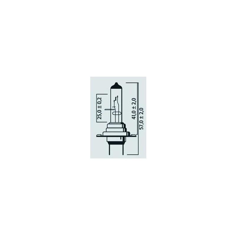 Coffret de 2 Lampes H7 12V 55W PX26d ULTRA + 90% - Halogène