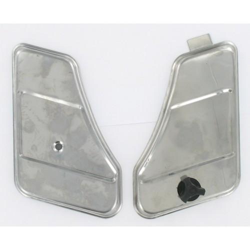 Paire de Portes coffre / Boites à outils chromées - Peugeot 103