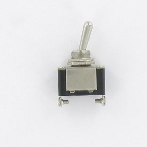 Interrupteur 2 positions Marche/Arrêt - Diam 12mm - 25A 12V