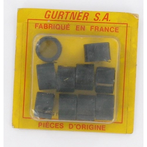 Bague de réduction 19 x 16 pour carburateur Gurtner MBK 707 (blister de 10)