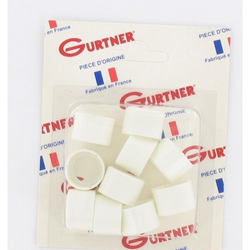 Bague de réduction 17 x 19 pour carburateur Gurtner MBK 705 (blister de 10)