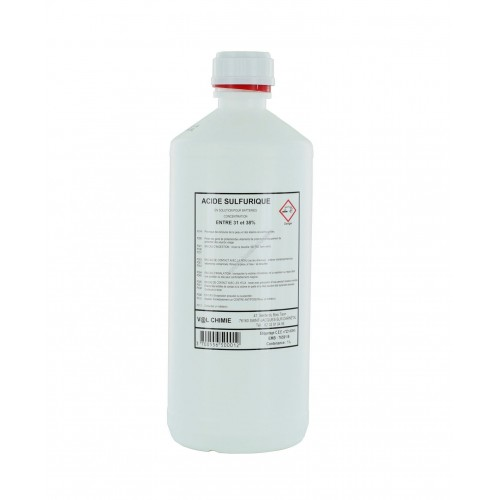 Palette de 540 Bidons 1 litre Electrolyte 37.4