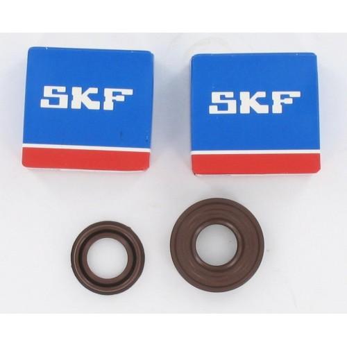 Kit roulements moteur 6204 C4 TN9 SKF + 2 spi VITON - MBK Booster / Nitro - SR/CPI - BW'S