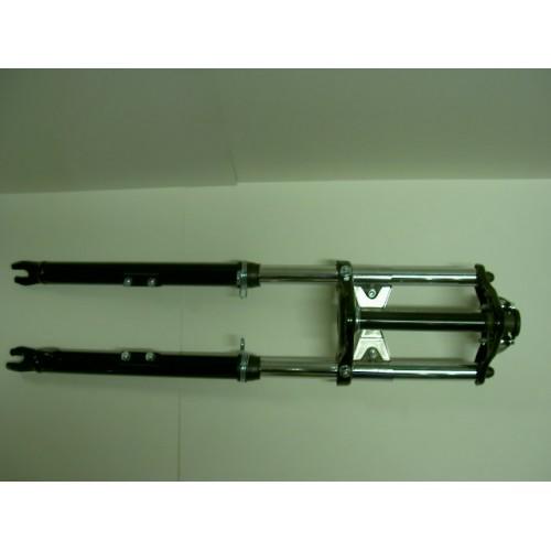 Fourche telescopique complete noire Peugeot 103 SP SPX RCX