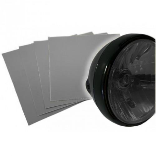 Sticker de phare semi fumé transparent haute résistance 250*250