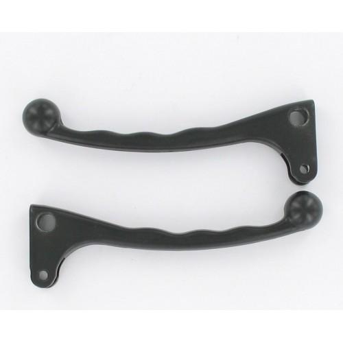 Levier de frein Aluminium Noir à boule - Droite / Gauche (la paire)