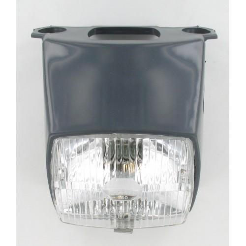 Phare carré gris complet Peugeot 103 MVL / Vogue