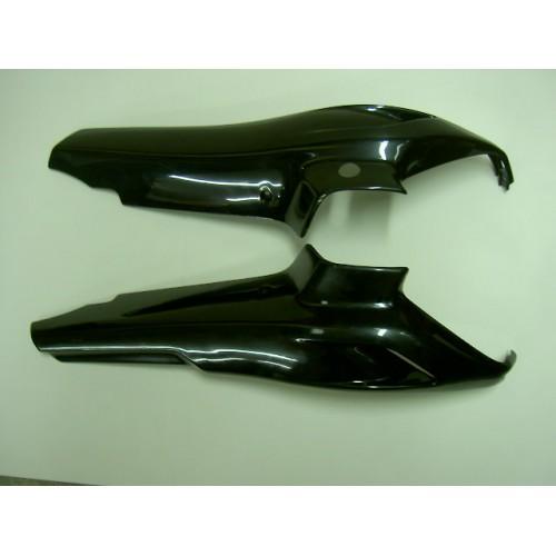Paire de capotages moteur noir Peugeot 103 SPX / RCX