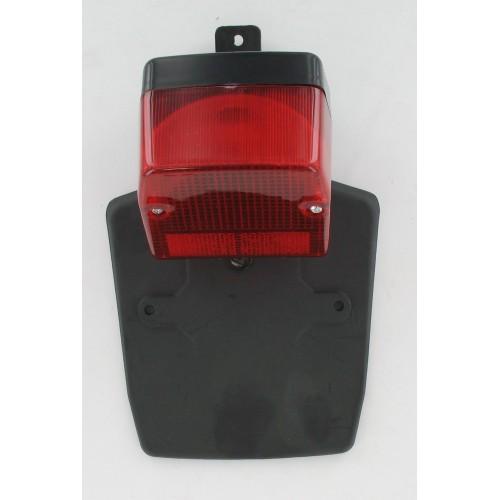 Feu arrière avec support de plaque type Peugeot 103 SPX