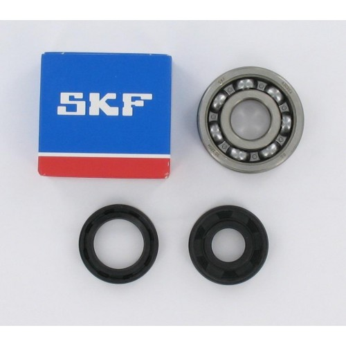 Kit roulements moteur 6303 C4 SKF Spi nitrile - Minarelli AM6
