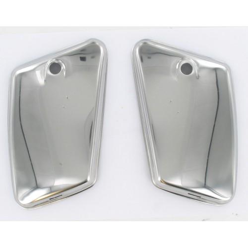 Paire de portes coffre / boites à outils chromés MBK AV88/89 SP 99
